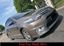 2014 TOYOTA VIOS 1.5J (AT) True Year Made