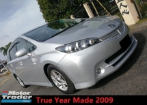 2009 TOYOTA WISH 1.8 S Paddle Shift True Year Made