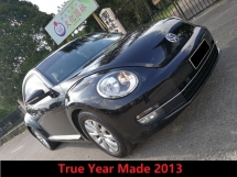 2013 VOLKSWAGEN BEETLE 1.2 TSI True Year Made
