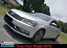 2012 VOLKSWAGEN PASSAT 1.8 TSI Comfort Line True Year Made
