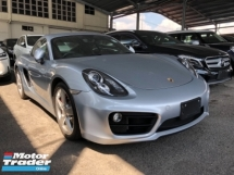 2014 PORSCHE CAYMAN 2014yr Unreg Porsche Cayman S 3.4 PDK Paddle Shift 7Speed Camera