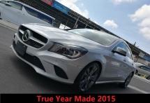 2015 MERCEDES-BENZ CLA CLA 180 1.6 True Year Made
