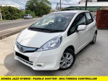 2014 HONDA JAZZ 1.3 Hybrid PADDLE SHIFTER AUTO START STOP SYSTEM 1 OWNER LOW MILEAGE