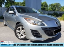 2012 MAZDA 3 1.6(A) HIGH SPEC SPORT UNIT ORIGINAL CONDITION LIKE NEW TIPTOP