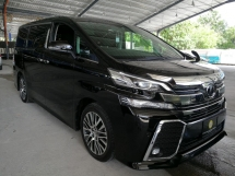 2017 TOYOTA VELLFIRE 2.5ZG Edition pre crasg sunroof offer unreg 2019