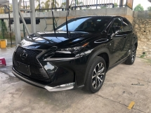 2015 LEXUS NX NX200 NX200t F Sport 2.0 Turbocharged 235hp Pre Crash Sun Roof Head Up Interface Memory Bucket Seat Smart Entry Automatic Power Boot Multi Function Paddle Shift Steering Auto Hold Start Stop Engine Intelligent LED Bluetooth Unreg