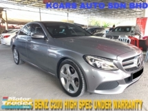 2017 MERCEDES-BENZ C-CLASS C200 BLUE EFFICIENCY AVANTGARDE UNDER WARRANTY HAPESENG STAR