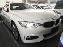 2014 BMW 4 SERIES 420i M SPORT COUPE PRE COLLISION ALERT JAPAN UNREG