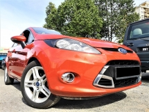 2013 FORD FIESTA 1.6 SPORT (A)1 OWNER