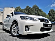 2013 LEXUS CT200H 1.8 LUXURY (A)60000KM FULL SERVICED RECORD