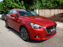 2015 MAZDA 2 1.5 SKYACTIV-G Hatchback PREMIUM Spec(AUTO)2015 One LADY Owner,41K Mileage,TIPTOP,with MAZDA WARRANTY, DVD,LEATHER,SPORTRIM, PADDLE Shift