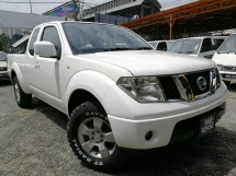 2012 NISSAN NAVARA 2.5L 4X4 KING CAB