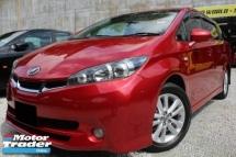 2009 TOYOTA WISH Toyota WISH S 1.8 SPORT PAD/SHIFT REVCam WARRANTY
