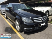2014 MERCEDES-BENZ C-CLASS C200 AMG Facelift 80K KM Full Service Record