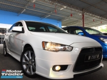 2014 MITSUBISHI LANCER 2.0 GTE SPEC SUNROOF FULL SPEC REVERSE CAMERA GPS FULL BODYKIT MIVEC