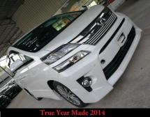 2014 TOYOTA VELLFIRE 2.5Z Golden Eyes True Year Made