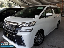 2017 TOYOTA VELLFIRE 2.5ZG Edition NEW ARRIVAL ON SALE!