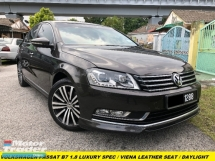 2013 VOLKSWAGEN PASSAT 1.8T LUXURY VIENA LEATHER SEAT PUSH START TSI TURBOCHARGED DAYLIGH RUNNING SYSTEM