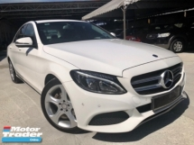 2017 MERCEDES-BENZ C-CLASS C200 2.0 (A) Mileage 20km UNDER WARANTY BY HSS