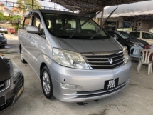 2008 TOYOTA ALPHARD 240G SIDE LIFT UP SEAT