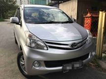 2013 TOYOTA AVANZA 1.5 (A) Full Loan One Owner Tip Top