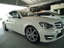 2012 MERCEDES-BENZ C-CLASS C180 COUPE  AMG SPEC 7Speed, Recon unregistered.👍3YEAR WARRANTY RM128K~OTR