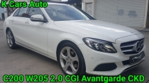 2016 MERCEDES-BENZ C-CLASS C200 W205 ACTUAL YEAR CGI AVANTGARDE CKD NEW 22K LOW MILEAGE FULL SERVICE AND WARRANTY BY C&C UNTIL 2020 LIKE NEW CAR