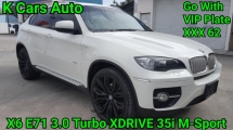 2009 BMW X6 E71 3.0 TURBO X-DRIVE 35I M-SPORT CBU GO WITH VIP PLATE 62 BUCKET SEAT SUNROOF POWER BOOT EXCELLENT CONDITION