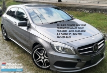 2015 MERCEDES-BENZ A-CLASS 2015 MERCEDES BENZ A180 AMG 1.6 TURBO NIGHT EDITION  UNREG  CAR SELLING PRICE ONLY RM 135000 NEGO