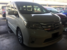 2013 NISSAN SERENA 2.0S Hybrid High Way Star Full Service Record