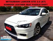 2014 MITSUBISHI LANCER GTE 2.0 SEDAN (A) SUNROOF LEATHER SEAT REVERSE CAMERA PADDLE SHIFT