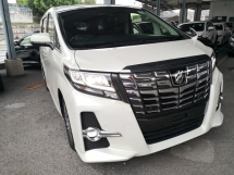 2017 TOYOTA ALPHARD 2.5 SC SUNROOF PRE CRASH 360 CAMERA JAPAN UNREG