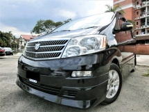 2004 TOYOTA ALPHARD TOYOTA ALPHARD 3.0 MZG HIGH SPEC CNY CLEARANCE STOCK OFFER/P.BOOT/P.DOOR/SUNROOF