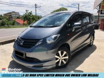 2013 HONDA FREED 1.5 I-VTEC HIGH SPEC LIMITED EDITION MUGEN TIPTOP MPVs LIKE NEW CAR SHOWROOM