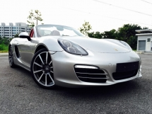2015 PORSCHE BOXSTER (981) 2.7 PDK LIKE NEW