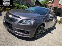 2012 CHEVROLET CRUZE 1.8 (A)  LT SPORT FACELIFT  MIL 69K Full Sevice Record