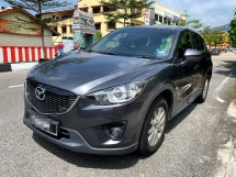 2013 MAZDA CX-5 2.0 SKYACTIV-G PREMIUM SUV(AUTO)2013 Only 1 UNCLE Owner,68K Mileage,TIPTOP,ACCIDENT-Free,DIRECT-Own, LEATHER Seat,DVD,GPS&REVERSE Cam