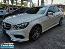 2014 MERCEDES-BENZ E-CLASS E250 AMG Radar Safety Unreg Sale Offer CNY On The Road