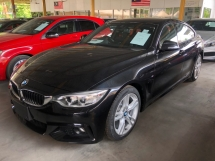 2015 BMW 4 SERIES 420i 428i M Sport Gran Coupe 2.0 Twin Power Turbo Sport/Eco Pro Mode Selection Intelligent Bi LED Automatic Power Boot Memory Seat Multi Function Paddle Shift Steering Bluetooth Connectivity Unreg