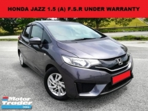 2016 HONDA JAZZ 1.5 i-VTEC HATCHBACK (A) FULL SERVICE RECORD UNDER WARRANTY