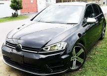 2014 VOLKSWAGEN GOLF 2014 VOLKSWAGEN GOLF R 2.0 TSI HATCHBACK JAPAN SPEC CAR SELLING PRICE ONLY ( RM 168,000.00 NEGO )
