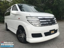 2005 NISSAN ELGRAND 3.5 DOKTOR OWNER CAMERA SUNROOF LIKE NEW
