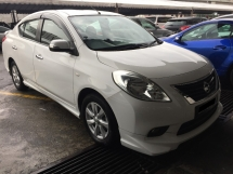 2014 NISSAN ALMERA 1.5 (A) VL 65K KM Full Service Record Actual Year Made