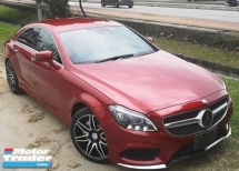 2015 MERCEDES-BENZ CLS-CLASS 2015 MERCEDES BENZ CLS 400 3.0 V6 AMG FACELIFT JAPAN SPEC CAR SELLING PRICE ONLY RM 368000.00 NEGO