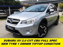 2015 SUBARU XV PREMIUM XV 2.0 CVT 1 OWNER ORI PAINT TIPTOP CONDITION
