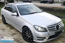 2014 MERCEDES-BENZ C-CLASS 2014 MERCEDES BENZ C180 1.8 CGI AMG UNREG FACELIFT JAPAN SPEC CAR SELLING PRICE ONLY RM 122,000.00