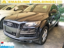 2012 AUDI Q7 3.0 TFSI OTTR MEMORY BUCKET SEATS POWER BOOT REVERSE CAMERA  PUSH START KEYLESS SMART ENTRY
