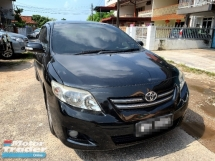 2008 TOYOTA COROLLA ALTIS 1.8 G FULL SPORT Spec(AUTO)2008 Only 1 LADY Owner, 68K Milege, TIPTOP,ACCIDENT-Free, DIRECT-Own, with POWERSEAT & AIRBEGs