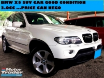 2006 BMW X5 3.0 SUV M SPORT FACELIFT NICE CAR PRICE CAN NEGO
