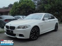 2013 BMW 5 SERIES 528i 2.0 M Sport F10 Twin PowerTurbo PaddleShift 8Sp Steptronic NAVI Keyless PushStart ReverseCamera
